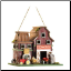 Farmstead Wood Barnyard Birdhouse (SKU: 14257)