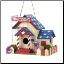 God Bless America Birdhouse (SKU: 15282)