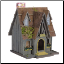 Thatch Roof Chimney Decorative Bird House (SKU: 29312)