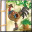 Cowboy Rooster Birdhouse ***out of stock*** (SKU: 37973)