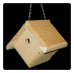 Hanging Wren Bird House