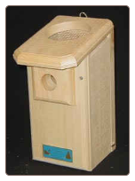 Open-top Bluebird House