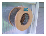Large Porthole Window Feeder