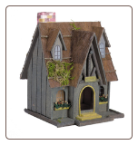 Thatch Roof Chimney Decorative Bird House***out of stock***