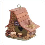 Love Shack Decorative Bird House