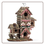 Gingerbread Style Decorative Birdhouse