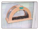 Small Arched Window Feeder