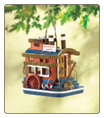 River Boat Queen Birdhouse